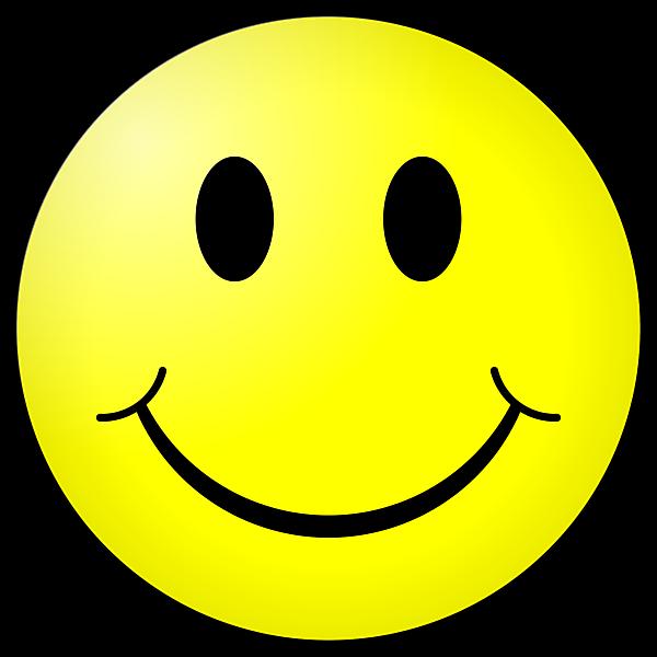 изображение смайлика с улыбкой