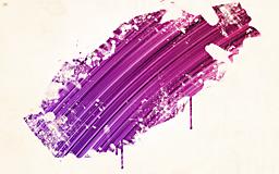 Фиолетовая кисть