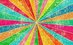 Разноцветные лучи