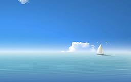 Белый кораблик