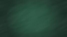 Зеленая школьная доска