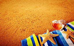 Морской песок и ракушки