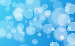 Белые круги на голубом фоне