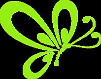 Бабочка нарисованная