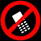 Отключите телефоны
