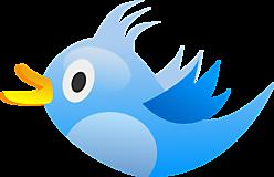 Синяя птичка Твити