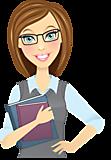 Учитель с книгами