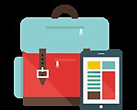 Портфель и планшет