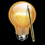 Лампочка и карандаш