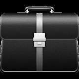 Черный деловой портфель